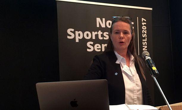 Norjan hiihtoliiton juristi Anne-Lise H. Rolland vakuuttaa, että Martin Johnsrud Sundby ja Therese Johaug ovat syyttömiä.
