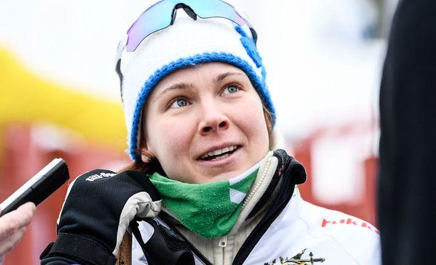 Susanna Saapungin vahva loppuveto toi kympin vapaan SM-pronssia.