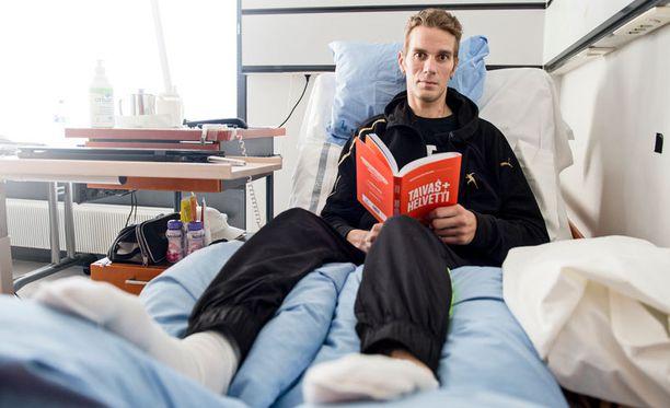 Marko Kovalaisen virikkeenä ja viihdykkeenä on Taivas + helvetti -kirja, jossa 21 yrittäjää kertoo tarinansa.