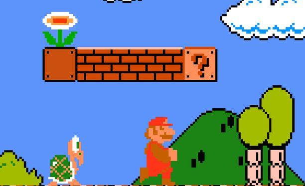 Tältä Super Mario näyttää Super Mario Bros -pelissä.