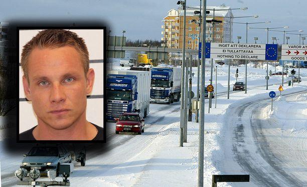 Jan Salminen on 178 senttiä pitkä, ja hänellä on siniset silmät.