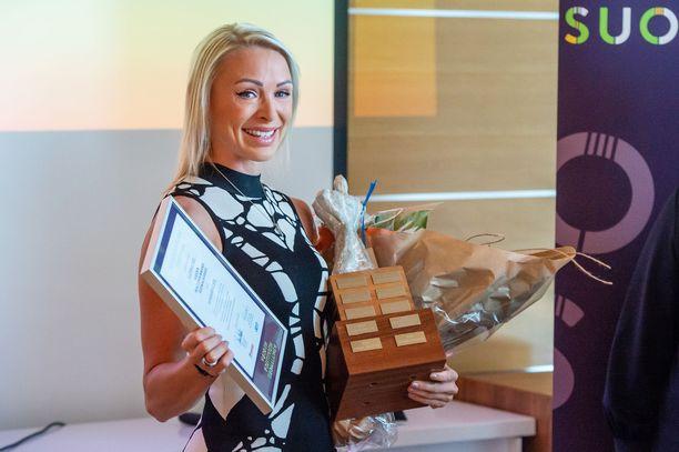 Annimari Korte on positiivisin suomalainen vuonna 2020.
