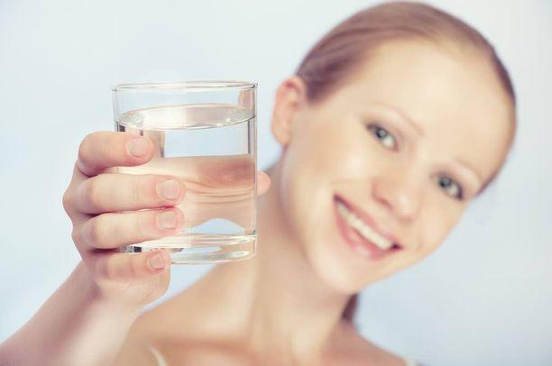Vesi on parasta janojuomaa.