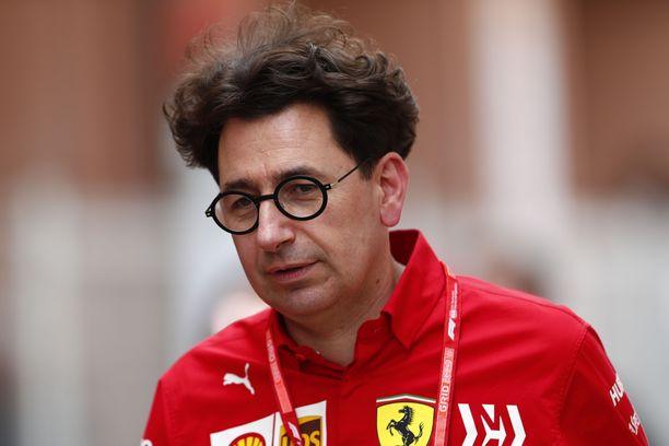 Mattia Binotton aika Ferrarin tallipäällikkönä on ollut tuskaista.
