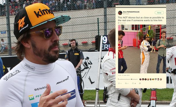 Fernando Alonson kaksoisolennon yhdennäköisyys hämmensi.