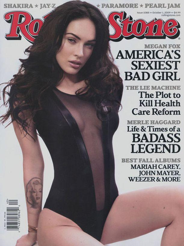 Megan avautui Rolling Stone -lehdelle myös epävarmuuksistaan ja jatkuvasta tunteestaan, että häntä pilkataan.
