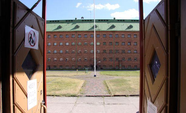 Vastaanottokeskus Joutsenossa.