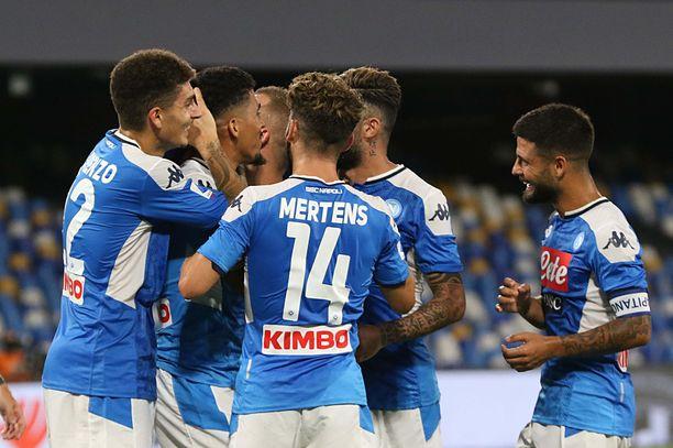Napoli pelaa Serie A -kauden päättymisen jälkeen vielä Mestarien liigaa.