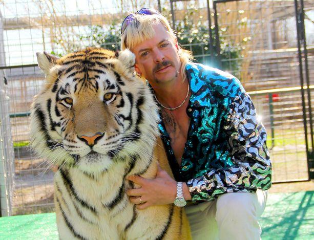 Joe Exotic on Netflixin sarjassa Tiger King, eli villipetojen kuningas.