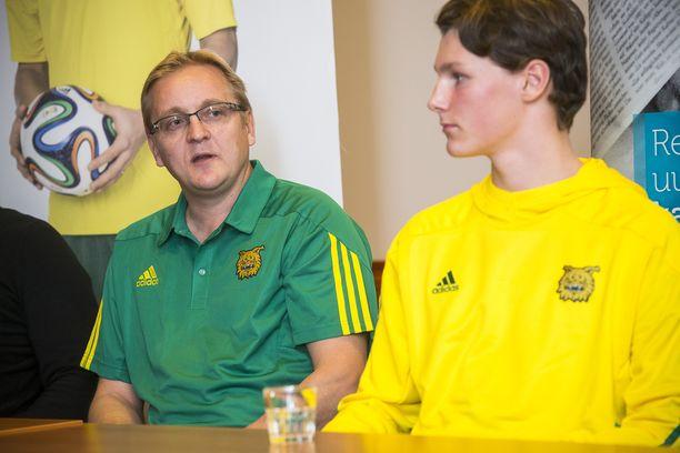 Otto Huuhtanen siirtyi Jarkko Wissin valmentamasta Ilveksestä Newcastleen.