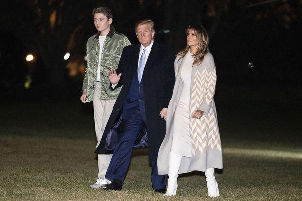 Trumpit esiintyivät yhdessä reilu viikko sitten yhdessä julkisuudessa.