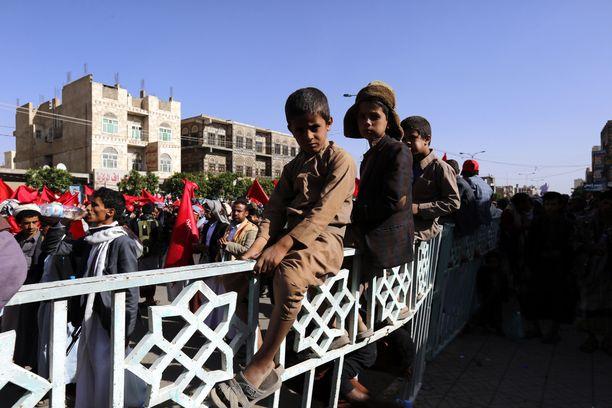 Jemenissä noin 28 miljoonasta asukkaasta joka viides näkee nälkää.