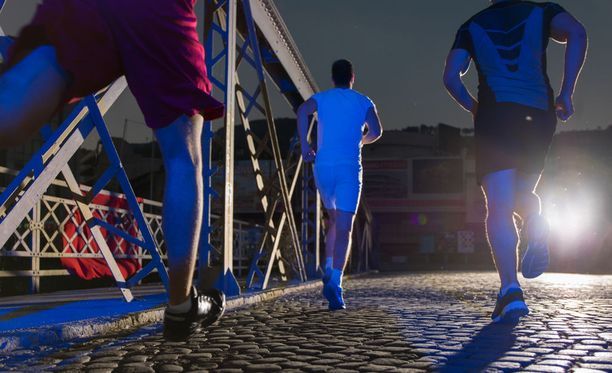 Myöhäisiltakin voi olla parasta juoksuaikaa.