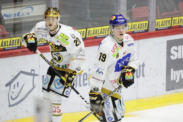 Nuorten maajoukkuen ja Kärppien tähdet Aleksi Heponiemi ja Rasmus Kupari pelaavat JYPiä vastaan 14. joulukuuta ja suuntaavat seuraavana päivänä MM-joukkueen mukana Kanadaan.