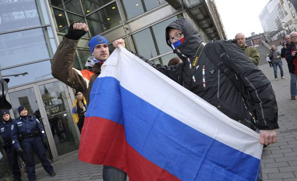 Putin-jugendiksikin kutsuttu Nashi-järjestö on osottanut mieltä myös Suomessa.