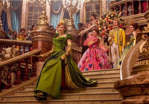 Näyttelijän uusin rooli on ilkeänä äitipuolena Cinderella-elokuvassa.