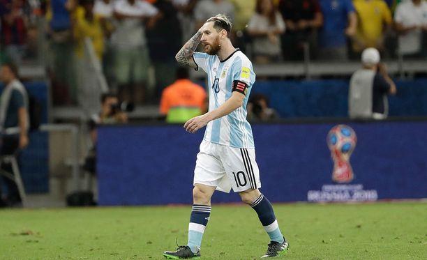 Lionel Messi jäi seurakaverinsa Neymarin varjoon Belo Horizontessa.