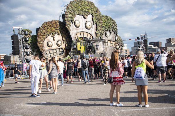 Weekend-festivaalin tunnelmaa 2019 kesällä.