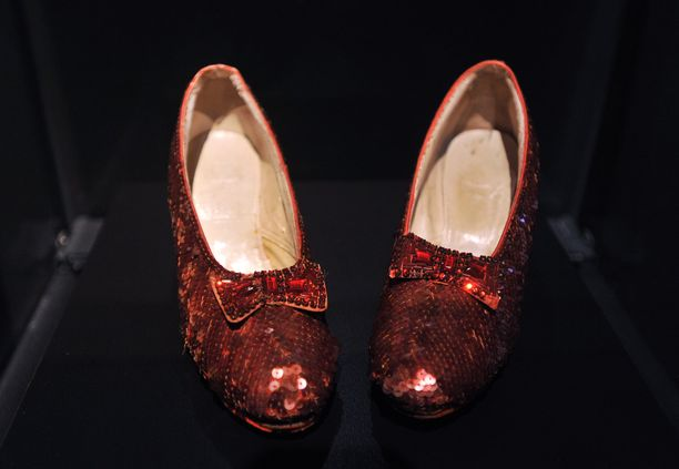 judy garland kengät