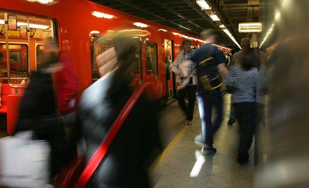 Tapaus sattui Itäkeskuksen metroasemalla. Arkistokuva.