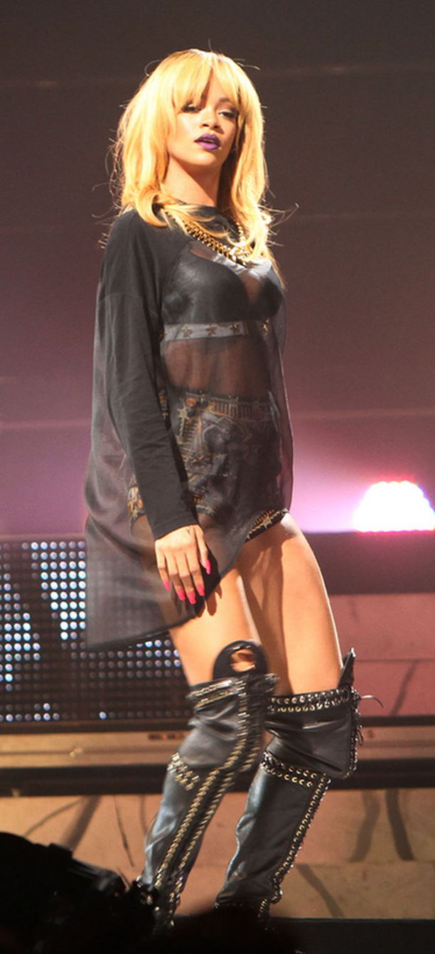 Rihannan tyyli puree.