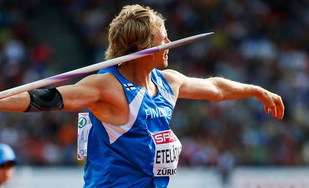 Lassi Etelätalo sijoittui viime vuonna EM-kisoissa neljänneksi.