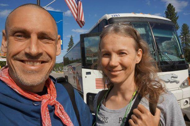 Viime vuonna Kannistot matkasivat bussilla halki Amerikan.