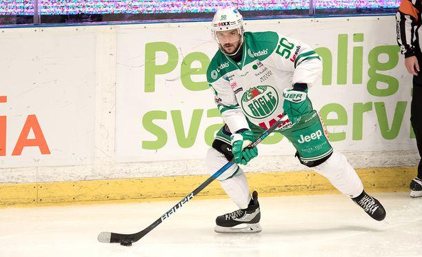 Juhamatti Aaltonen kausi Röglessä päättyi lähtöpasseihin.