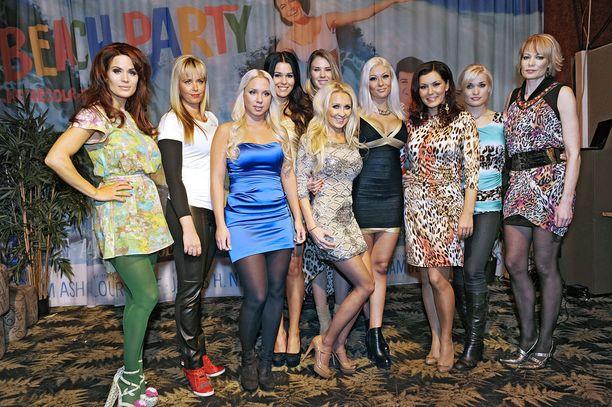 Viidakon tähtöset -ohjelmassa nähtiin Maisa Torpan lisäksi muun muassa Martina Aitolehti, Sara Sieppi, Susanna Penttilä ja Henna Kalinainen.