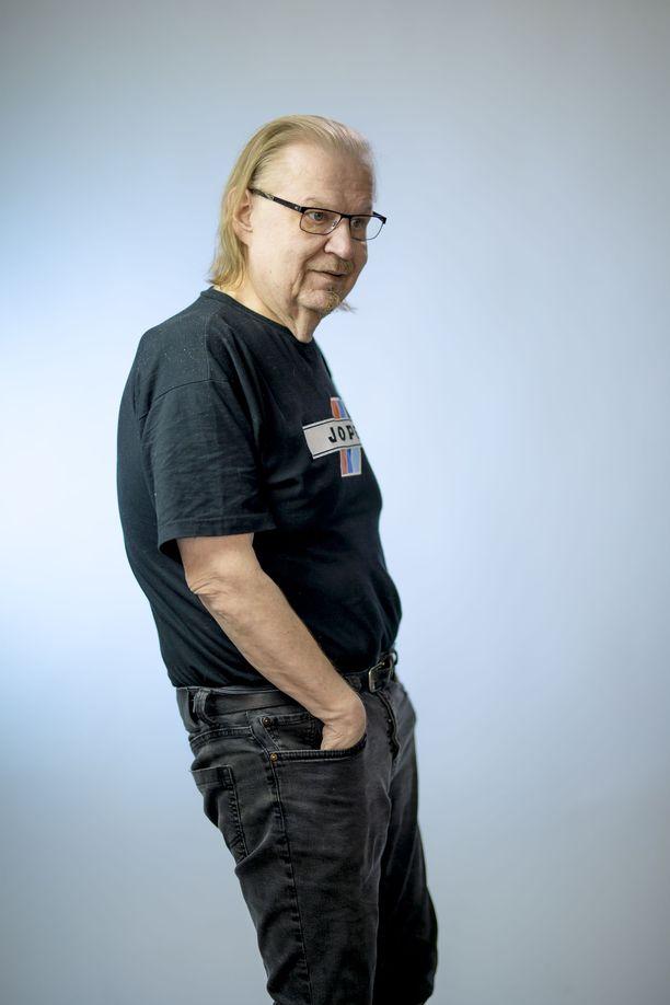 Jope Ruonansuu pani elämäntapansa uusiksi vakavien sairauksien myötä. Kuva vuodelta 2017.