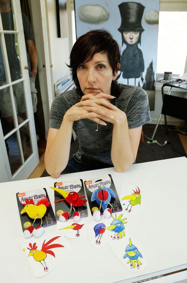 Adamsin alkuperäiset piirustukset ja niiden pohjalta luodut lelut.