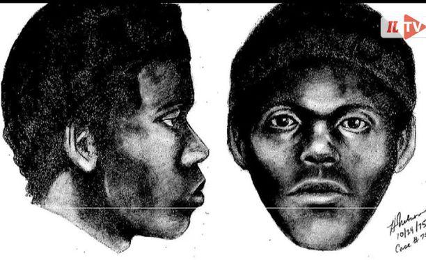 San Franciscon poliisi julkaisi vuonna 1975 luonnoksen epäillystä sarjamurhaajasta.