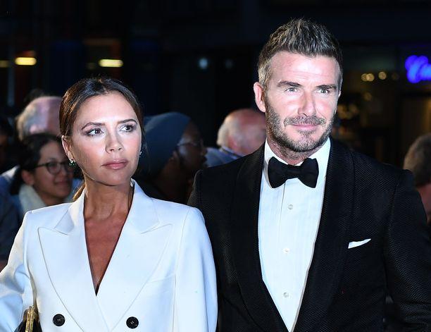 Victoria ja David Beckham ovat olleet 21 vuotta naimisissa.