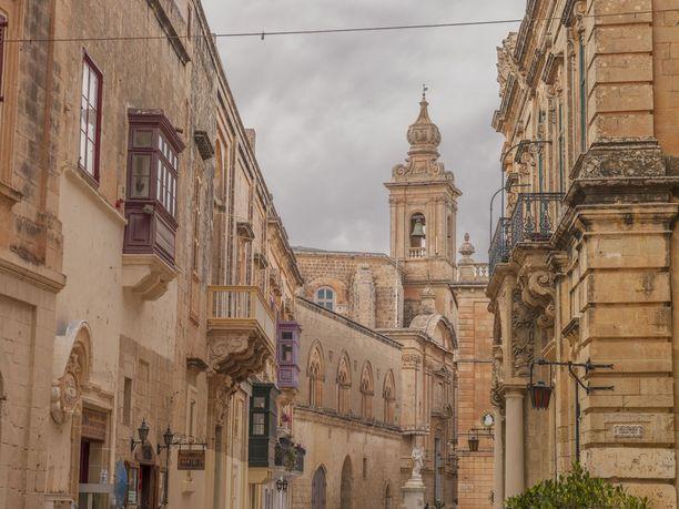 Mdina on Maltan entinen pääkaupunki.