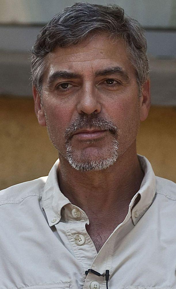 Näyttelijä George Clooney on tunnettu Sudan-rauhanaktivisti.
