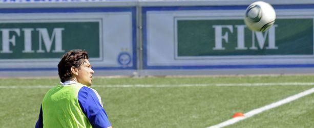 Jari Litmanen on mukana Zagreb-ottelussa.