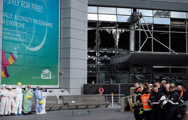 Isis iski Brysselin kentälle pari viikkoa sitten.