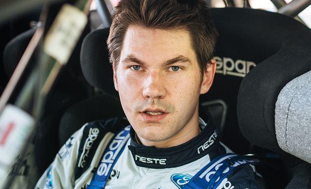 Teemu Suninen palaa WRC2-luokkaan.