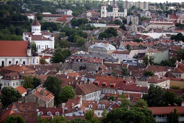 Liettuan pääkaupunki Vilna on edullinen matkakohde lyhyen lennon päässä.