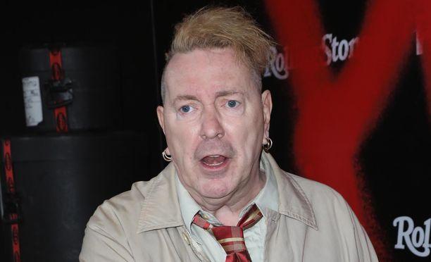 Johnny Rotten on 63-vuotias punk-ikoni.