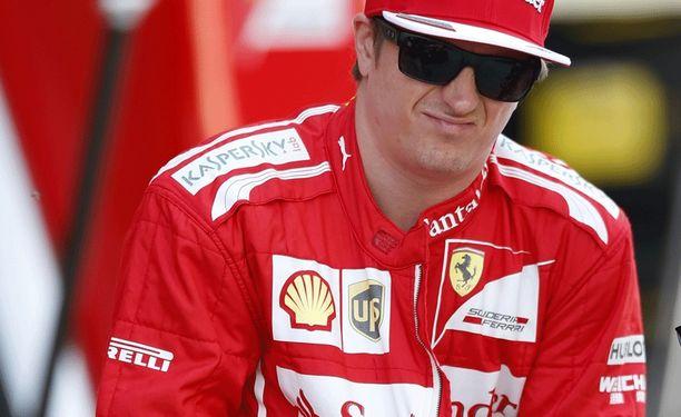 Kimi Räikkönen voi tuskin odottaa suurta menestystä alkukaudella.