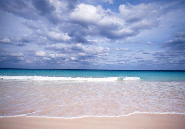 Pink Sands Beachin väri on hempeä.