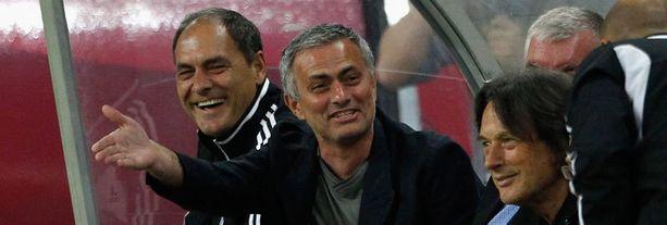 Jose Mourinhon aika Madridissa ei ollut yhtä hymyä.