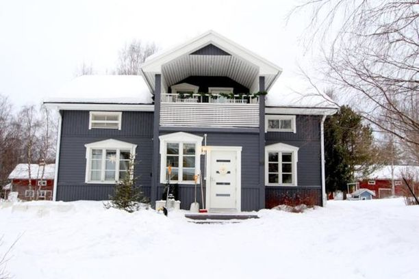 Pöykkölän pientalovaltainen alue sijaitsee noin viiden kilometrin päässä Rovaniemen keskustasta. Talossa on tilaa 119 neliötä.