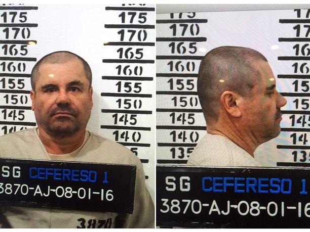 Huumeparoni El Chapo ei ole tyytyväinen oloihinsa newyorkilaisvankilan eristyssellissä.