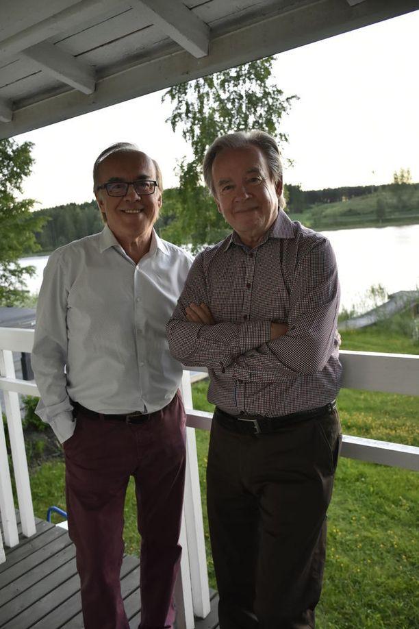 Kuluneena kesänä Matti ja Teppo Ruohonen kiersivät festareilla.