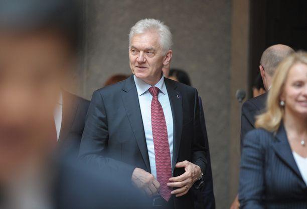 Suomalais-venäläinen suurliikemies Gennadi Timtsenko on yksi Rossija-pankin omistajista.