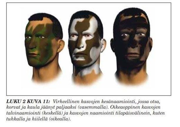 Tarkkuuskiväärejä käyttävät sotilaat ja valtiolliset sisäisen turvallisuuden joukot. Kuva on Suomen puolustusvoimien vuonna 2003 käyttöönottamasta Tarkka-ampujan käsikirjasta.