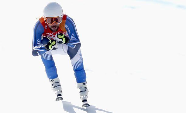 Andreas Romar on alppimaajoukkueen nimekkäin urheilija.