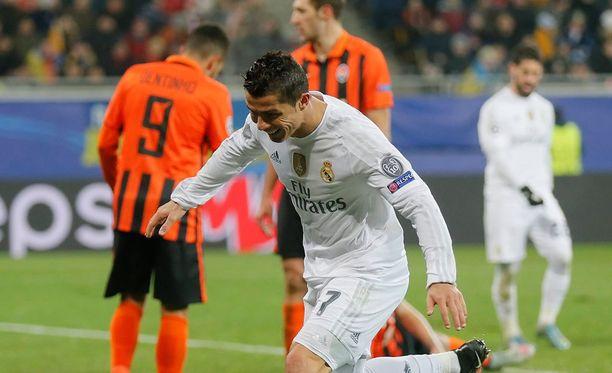 Cristiano Ronaldo päätti kolmen ottelun mittaisen kuivan kautensa.